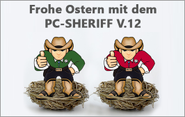 News Frohe OStern PC SHERIFF